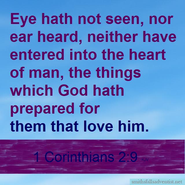 1 Corinthians 2 verse 9