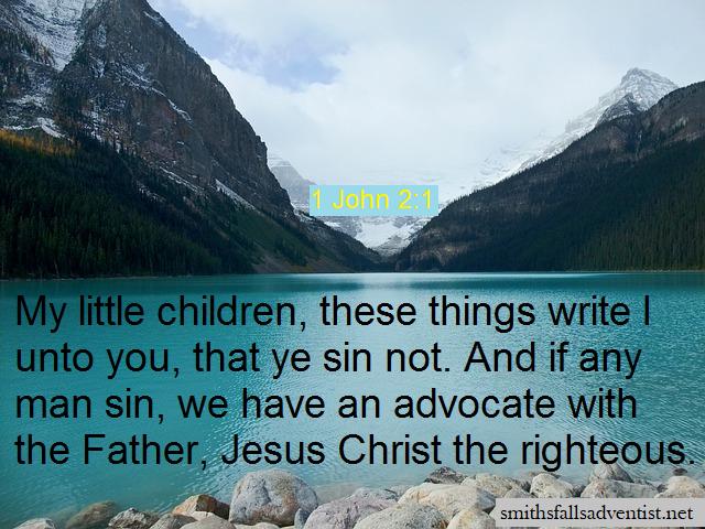 1 John 2 verse 1