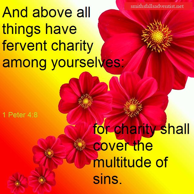 1 Peter 4 verse 8