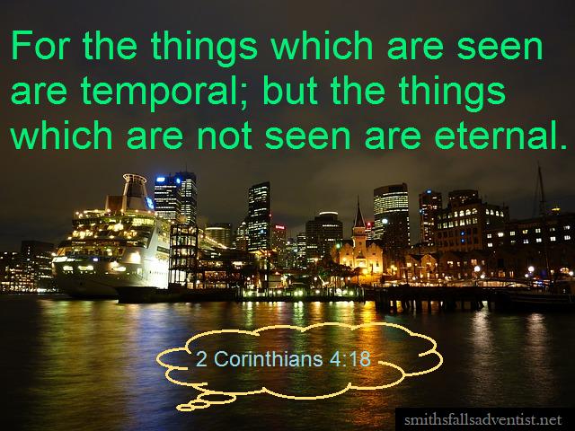 2 Corinthians 4 verse 18