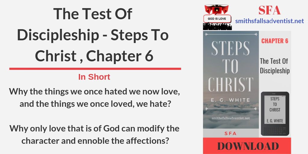 Title-The-Test-Of-Discipleship-Steps-To-Christ-Chapter-6-text-logo