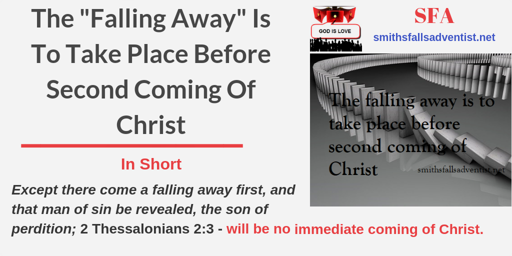 Title-The-_Falling-Away_-Is-To-Take-Place-Before-Second-Coming-Of-Christ-text-logo